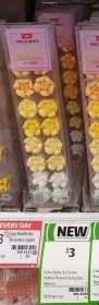 Coles 16 Pack Bake Create Decorations Flower Yellow 1