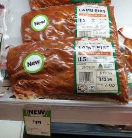 Coles $19 Kg Lamb Ribs Moroccan Glaze