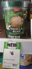 Coles 1L Irresistible Vegan Vanilla Bean 1