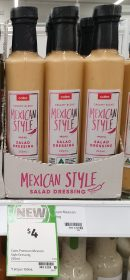Coles 250mL Salad Dressing Mexican Style