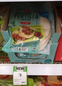 Coles 280g Street Tacos Tortilla
