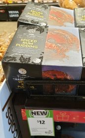 Coles 800g Finest Spiced Rum Pudding