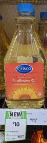 Crisco 2L Sunflower Oil
