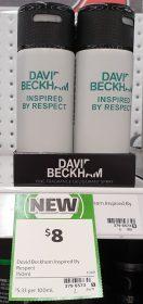 David Beckham 150mL Deodorant Inspired By Respect