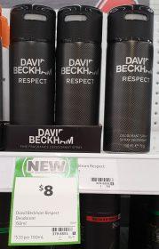 David Beckham 150mL Deodorant Respect