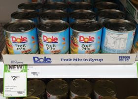 Dole 439g Fruit Mix In Syrup