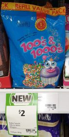 Dollar Sweets 190g 100's & 1000's