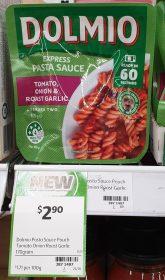 Dolmio 170g Pasta Sauce Express Tomato Onion Roast Garlic