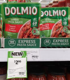 Dolmio 170g Pasta Sauce Express Tomato Spicy Peppers