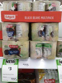 Edgell 4 X 125g Black Beans