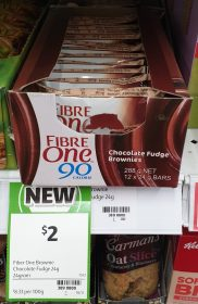 Fibre One 24g Bars Chocolate Fudge Brownies