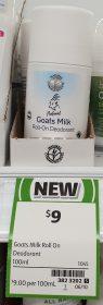 Goats Milk 100mL Deodorant