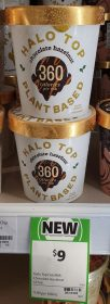 Halo Top 473mL Plant Based Chocolate Hazelnut 1