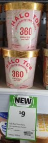 Halo Top 473mL Strawberry Cheesecake 1