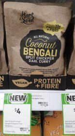 Hart Soul 300g Dahl Curry Split Chickpea Coconut Bengali