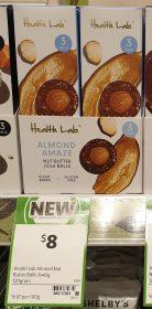 Health Lab 120g Balls Almond Amaze