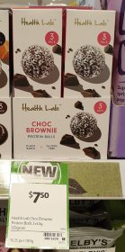 Health Lab 120g Balls Choc Brownie