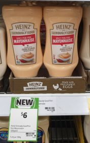 Heinz 500g Mayonnaise Spicy Peri Peri