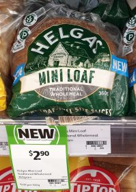 Helgas 360g Mini Loaf Traditional Wholemeal 1