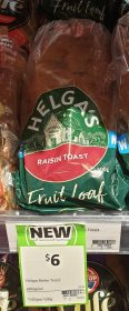 Helga's 600g Fruit Loaf Raisin Toast