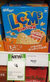 Kelloggs 108g LCMs Popcorn Caramel