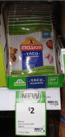 Mission 35g Seasoning Taco