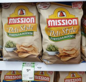 Mission 500g Tortilla Rounds Deli Style