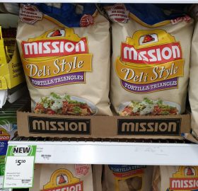 Mission 500g Tortilla Triangles Deli Style