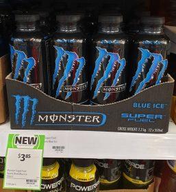 Monster 550mL Super Fuel Blue Ice