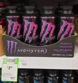 Monster 550mL Super Fuel Purple Passion