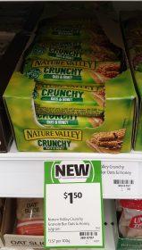 Nature Valley 42g Bar Crunchy Oats Honey 1