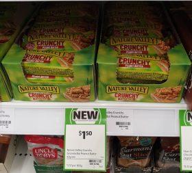 Nature Valley 42g Bar Crunchy Peanut Butter 1