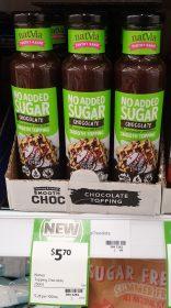 Natvia 250mL Topping Chocolate