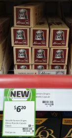 Nescafe 10 Pack Capsules Africas