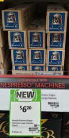 Nescafe 10 Pack Capsules Americas