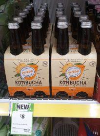 Nexba 4 X 330mL Kombucha Mango