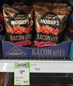 Nobbys 40g Bacon Bites 1