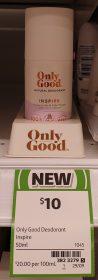 Old Good 50mL Deodorant Inspire