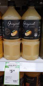 Original Juice Co 1L Black Label Grapefruit Juice 1