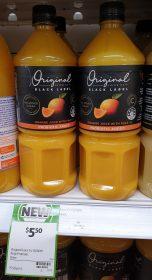 Original Juice Co 1L Black Label Orange Juice With Pulp 1