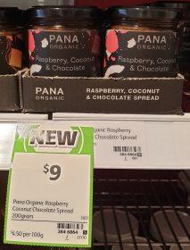 Pana Oranic 200g Spread Raspberry Coconut Chocolate
