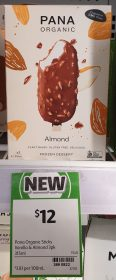 Pana Organic 315mL Frozen Dessert Almond 1