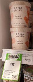 Pana Organic 475mL Salted Caramel 1
