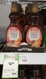 Queen 355mL Maple Flavoured Syrup Sugar Free