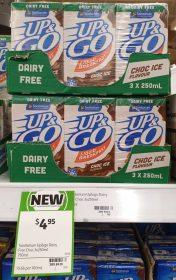 Sanitarium 3 X 250mL Up Go Dairy Free Choc Ice Flavour 1