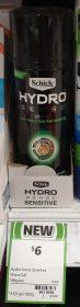 Schick 198g Shave Gel Hydro Sense