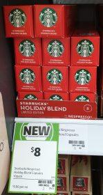 Starbucks 10 Pack Holiday Blend
