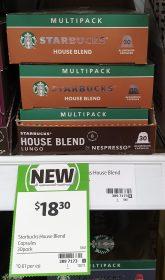 Starbucks 30 Pack House Blend Lungo