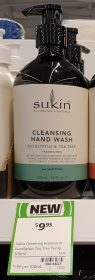 Sukin 500mL Hand Wash Eucalyptus Tea Tree