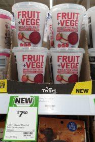 Tasti 180g Fruit Vege Wholefood Balls Strawberry Beetroot 1